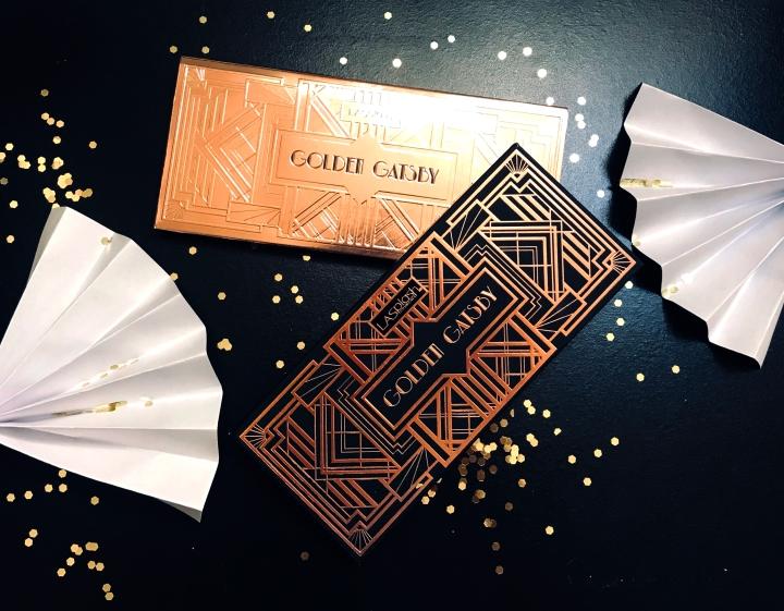 Makeup Review| Makeup Look | La Splash GoldenGatsby