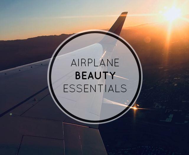Airplane Beauty Essentials