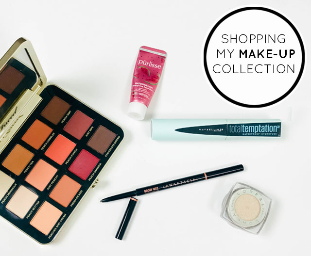 Shopping My Makeup Collection | Reusing items