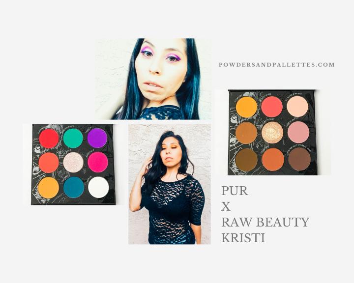 Giveaway | Pur Cosmetics  X Raw Beauty Kristi Palette |  * CLOSED*