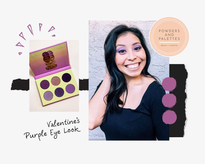 Valentine's Eye Look |Purple