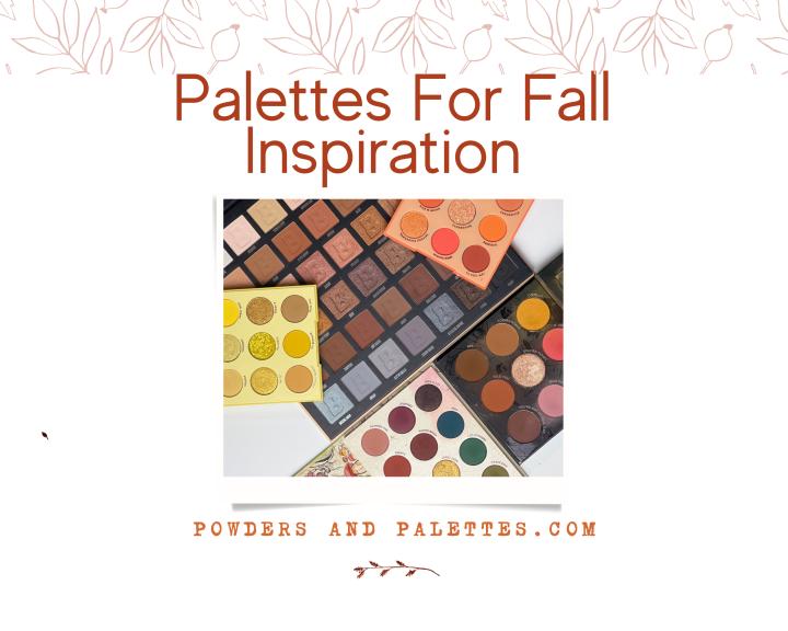 Palettes For FallInspiration